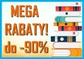 Książki z rabatem do -90% wyprzedaż książek
