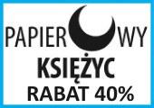 Wydawnictwo papierowy księżyc promocja -40%