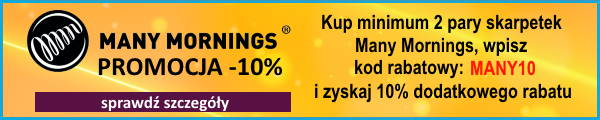 promocja many mornings -10%