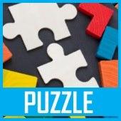 Puzzle, puzzle 3d, drewniane, klocki, wafle