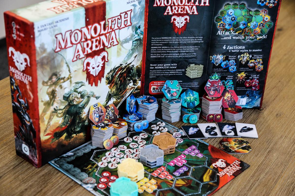 Gra planszowa Monolith Arena